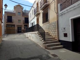Escalinata Calle San Luís