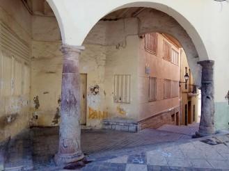 Pórtico casa Almudín (Plz. Sto. Ángel)