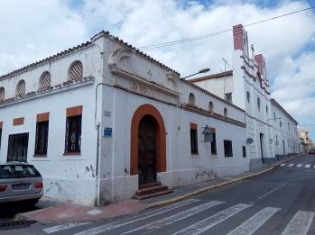 Parte del Convento que sobrevivió a los Bombardeos