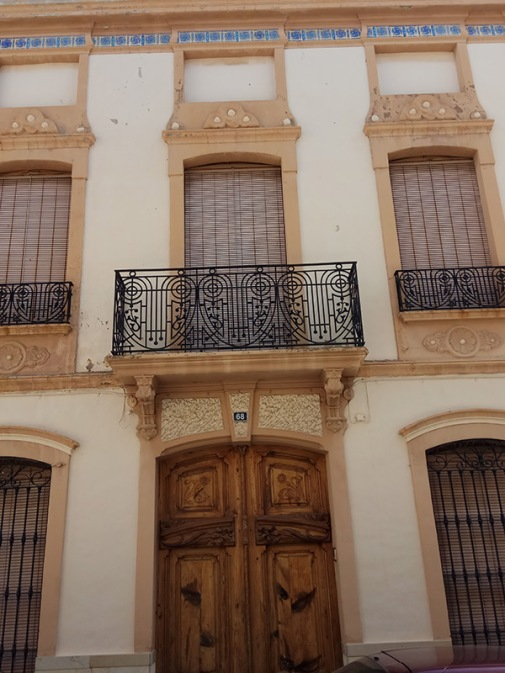 nº 68 Calle García Esbrí