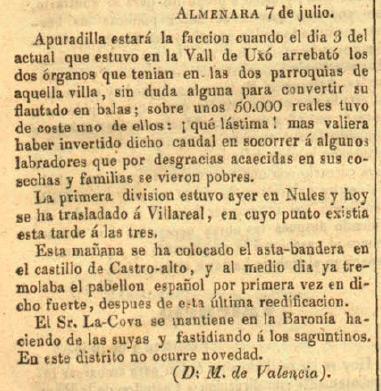 El Corresponsal (Madrid) 12/7/1839, página 4
