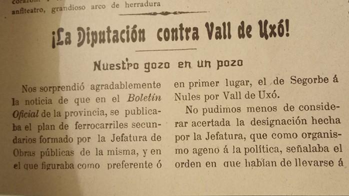 La Vanguardia. 5 novembre 1904