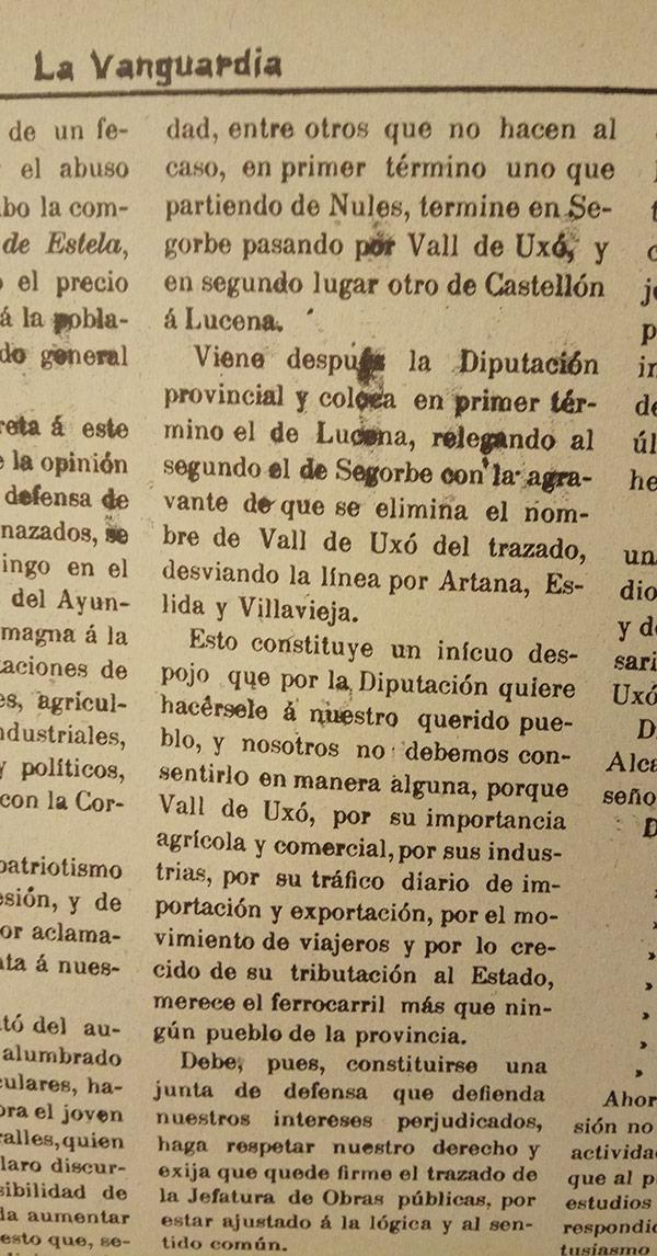 2 - La Vanguardia 22 d'octubre 1904