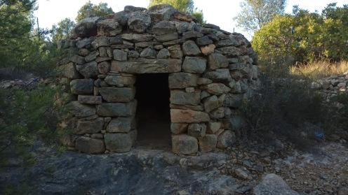 Caseta circular en la Punta