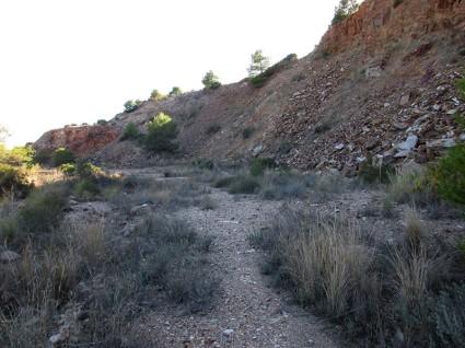 Zona Inferior de la mina la Murta