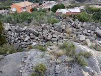 Vista de la pedrera de dalt
