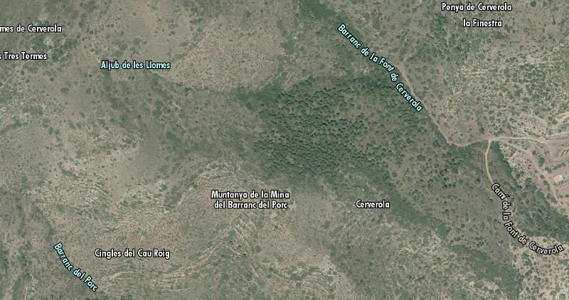 mapa mina_porc
